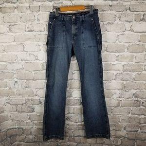 Vintage 90s Tommy Hilfiger Carpenter Jeans Size 8